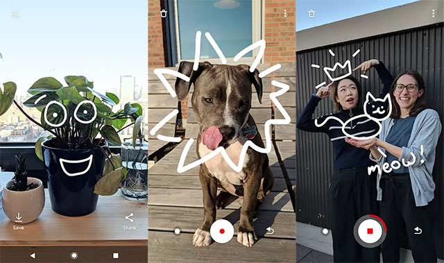 Google ARCore App Just A Line Lets You Doodle in Air