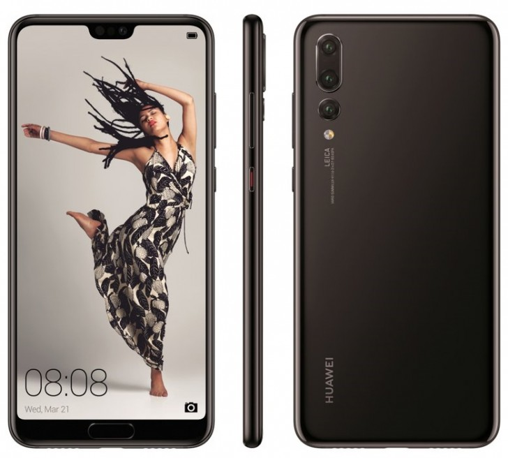 Huawei P20, P20 Lite, and P20 Pro Shown Off in All Its Glory