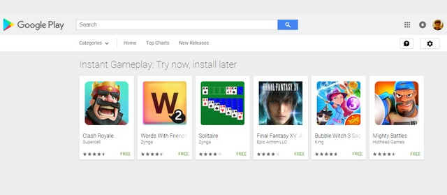 Play a Demo Before Installing Games With Google Play Instant