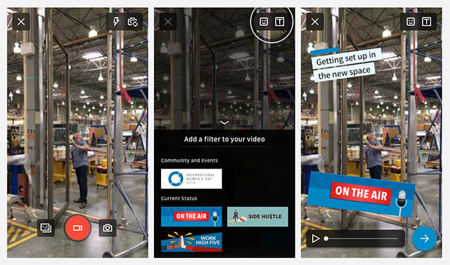 LinkedIn Copies Snapchat-Style Filters for Videos