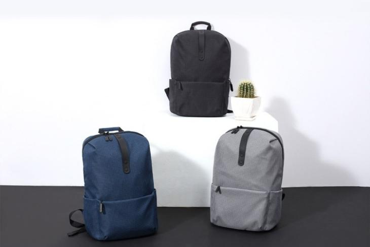 new xiaomi mi backpack launched in india