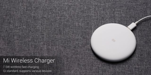 Mi Wireless Charger Also Unveiled