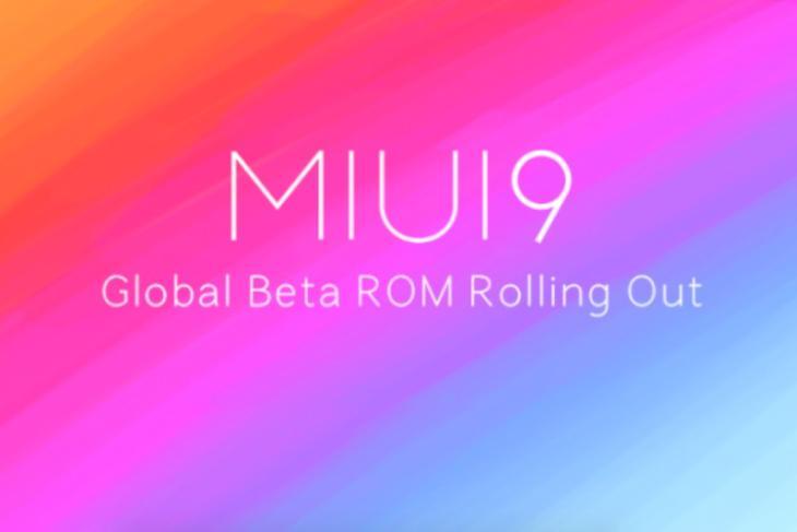 miui 9 global beta india featured