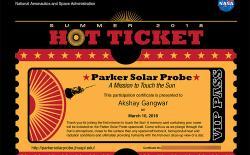 nasa send name sun featured website