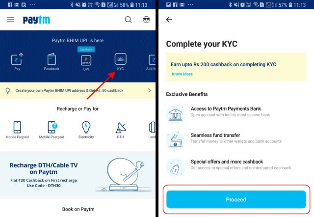 Paytm App Gets 'Self KYC' for Quicker Verification on Android and