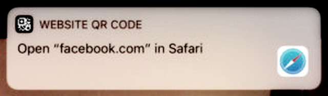 Flaw in iOS Camera's QR Reader Can Redirect Users to Malicious Websites