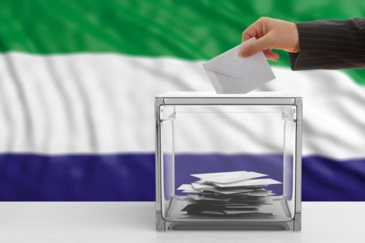 sierra leone elections blockchain