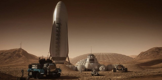 space X mars