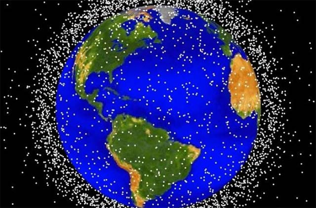 Scientists Want to Use Laser Beams to Track and Shoot Away Space Debris