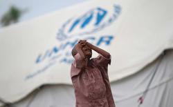 un refugee camp rohingya