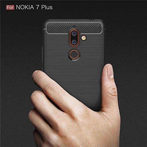 1. Newlike Flexible TPU Cover For Nokia 7 Plus