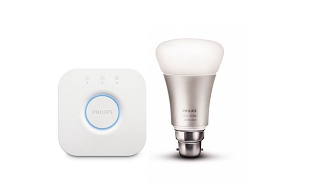 1. Philips Hue Mini Starter with 10 W B22 Bulb
