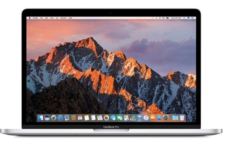 13 inch MacBook Pro no Touch Bar website