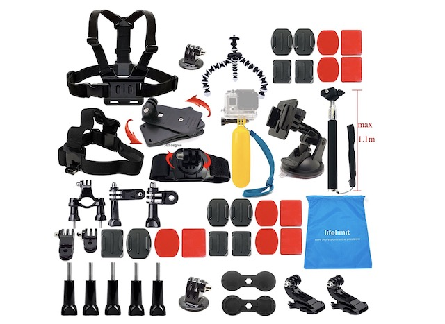 13. Lifelimit Accessories Starter Kit for GoPro Hero