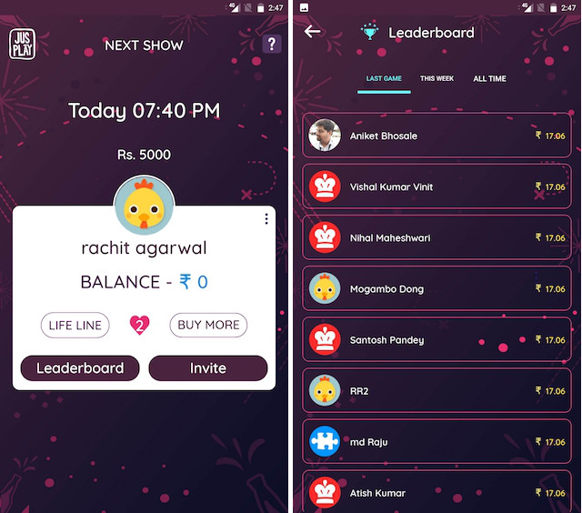 8 Best Live Trivia Games and Quiz Apps in India | Beebom
