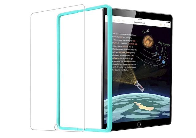 6. ESR Screen Protector for iPad 2018