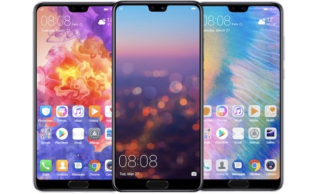 6. Huawei P20 and P20 Pro 1