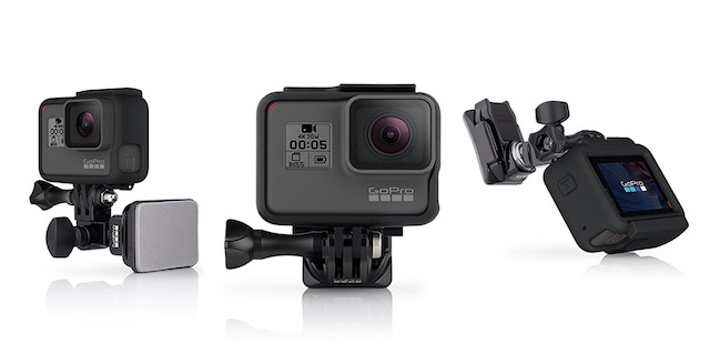7. GoPro Helmet Front and Side Mount