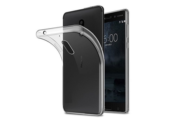 7. NewLike Transparent Back Cover for Nokia 7 Plus