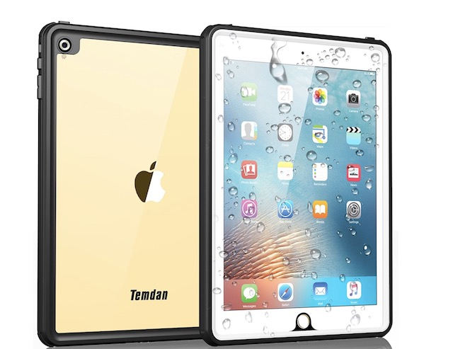 8. Temdan iPad 2018 Waterproof Case