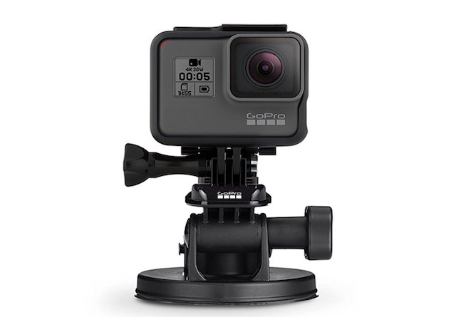 9. GoPro Fusion Suction Cup