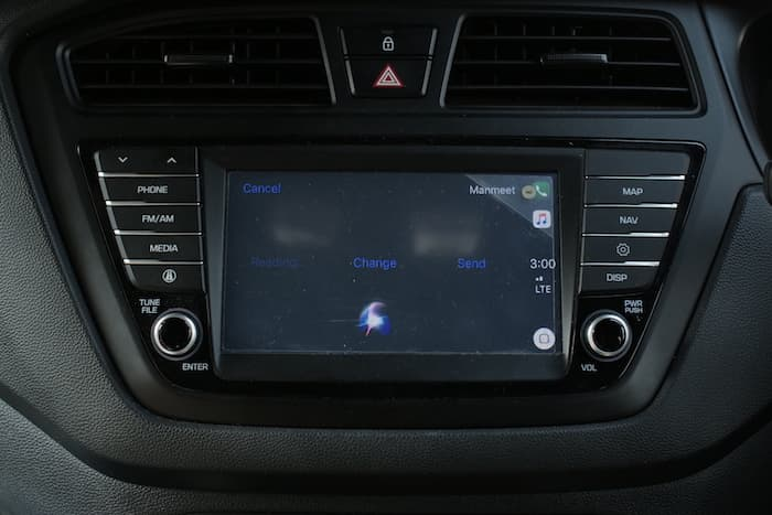 Apple Carplay messaging