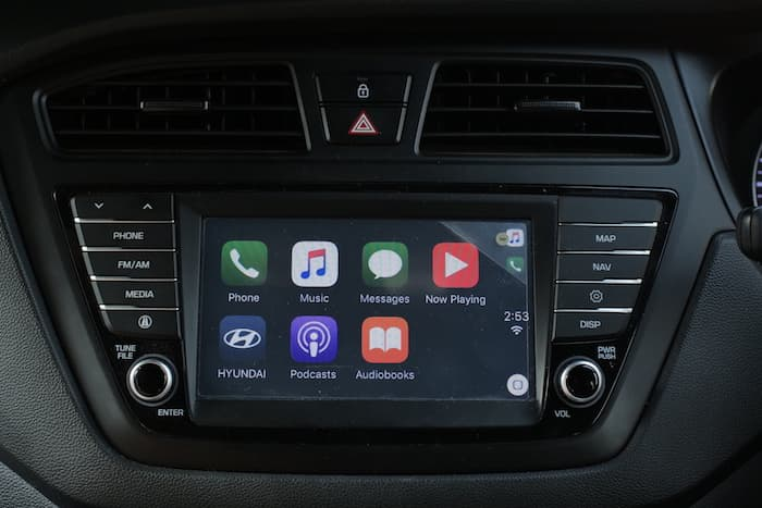 Apple carplay user interface