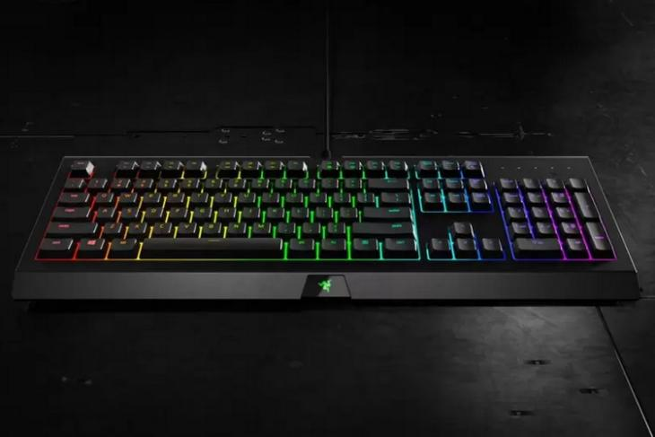 Buy the Razer Cynosa Chroma Gaming Keyboard at 44% Discount on Flipkart