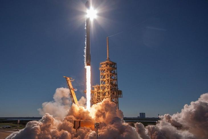 Falcon 9 Rocket Launch Koreasat 5a Spacex Flickr