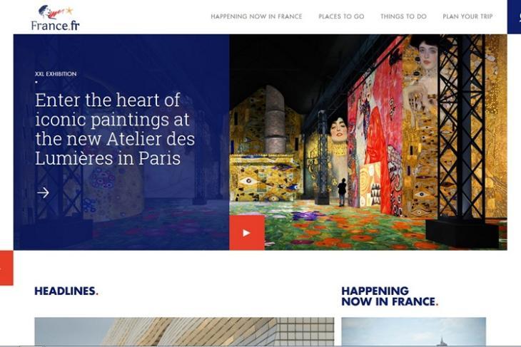France dot com website