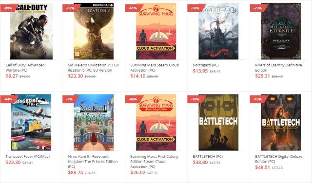 GoodOffer24 Games list