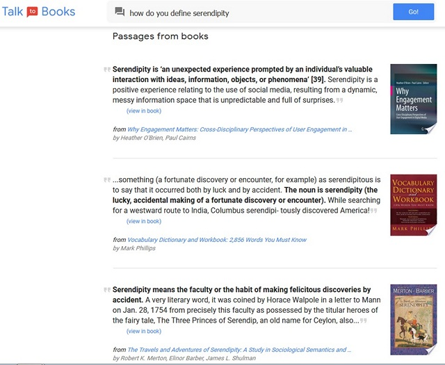 See How Well Google's AI Understands Language With 'Talk to Books' and 'Semantris' Experiments