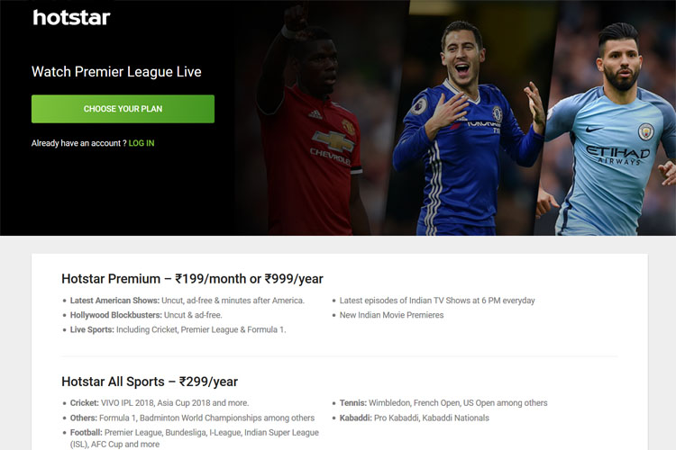 Hotstar Launches New All Sports Subscription At Rs 299 Per