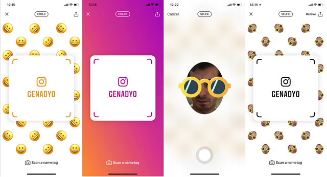 Instagram Nametags is a QR Codes Feature Ripped Off From Snapchat