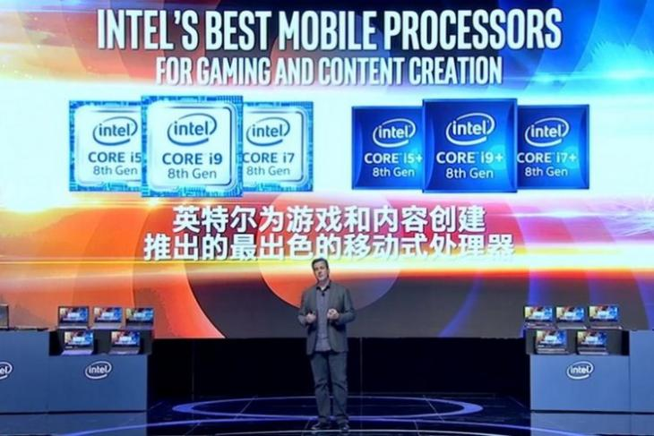 Intel Unveils 8th Gen Core i9 Processor for Laptops, Core i5+, i7+ and i9+ with Optane Memory