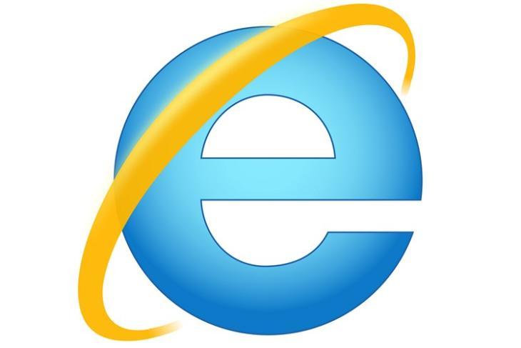 Internet Explorer logo website