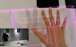 Microsoft's MRTouch Mixed Reality Technology Converts Any Surface into a Virtual Touchscreen