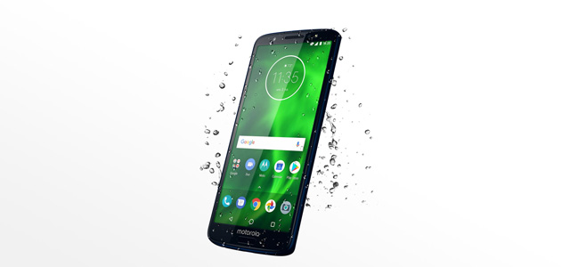 All Moto G6 phones have a water-repellent coating