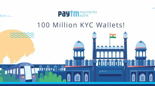 Paytm Payments Bank Claims to Have 100 Million KYC Verified Users