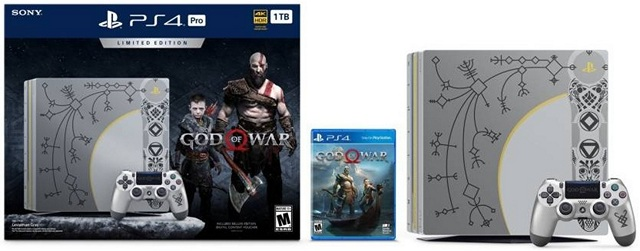 God of War Limited Edition PS4 Pro Available for Pre-Order in India
