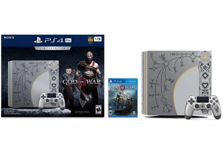PS4 God of War website
