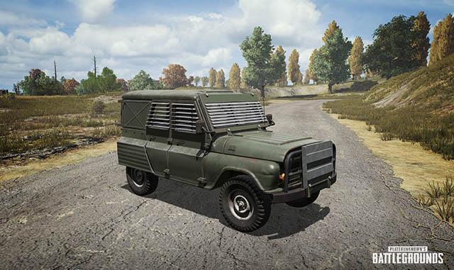 PUBG Armored UAZ