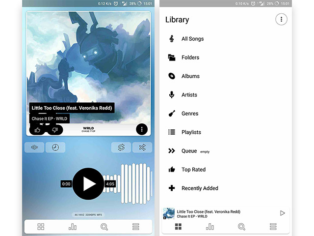 Poweramp Shows Off New Look and Overhauled UI With Beta