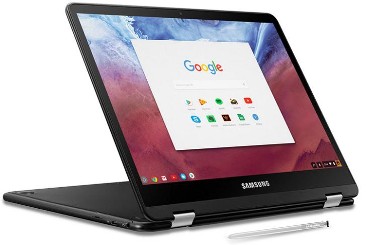 Samsung Chromebook Pro 2017 website