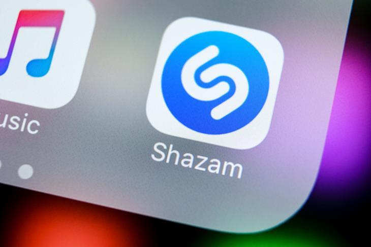 Shazam Logo website