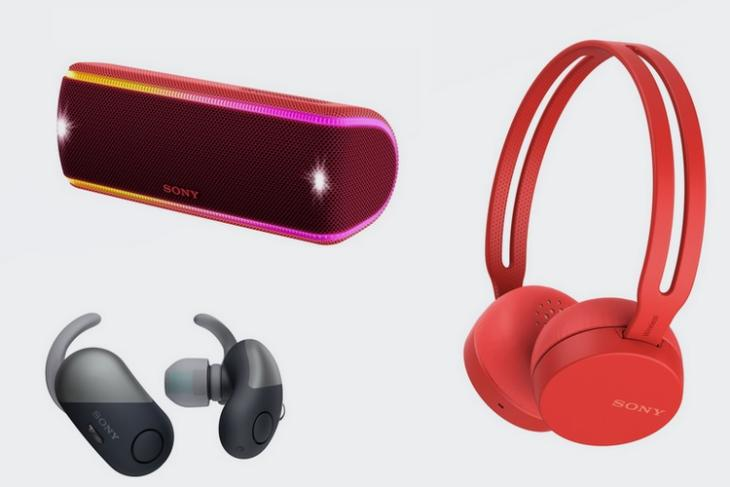 Sony Launches New Line-up of EXTRA BASS Bluetooth Speakers; Headphones with Google Assistant in India