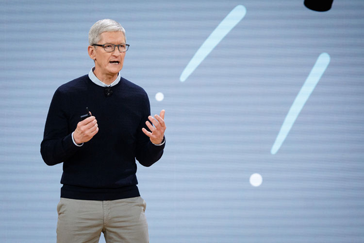 Apple CEO Tim Cook Fires Shots at Facebook, YouTube & More in Speech
