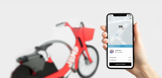 Uber Acquires Electric Cycle-Sharing Startup Jump Bikes