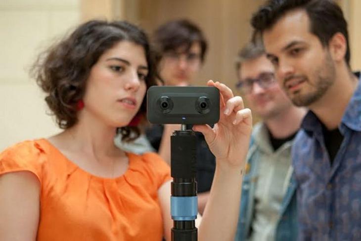 VR Content Lab website