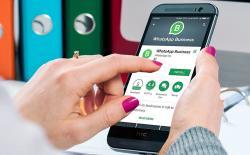 WhatsApp Business website